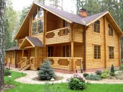 Построить бревенчатый дом своими руками