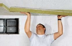 Какой слой утеплителя нужно на потолок