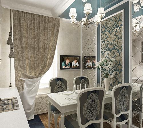 Зеркальная плитка в интерьере дома, Строительный портал