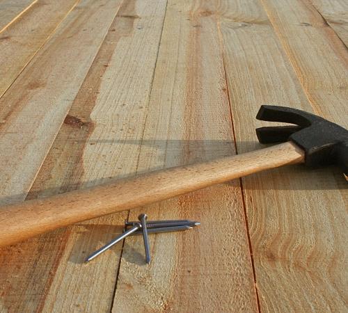 Фанера на деревянный пол своими руками