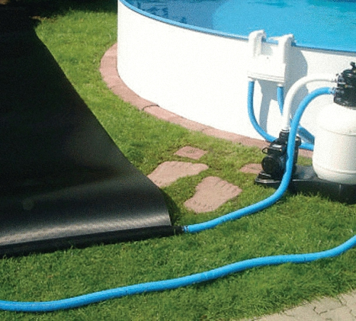 Солнечный коллектор для бассейна своими руками