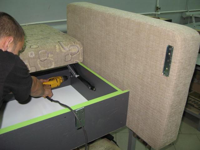 Замена механизма дивана книжка видео