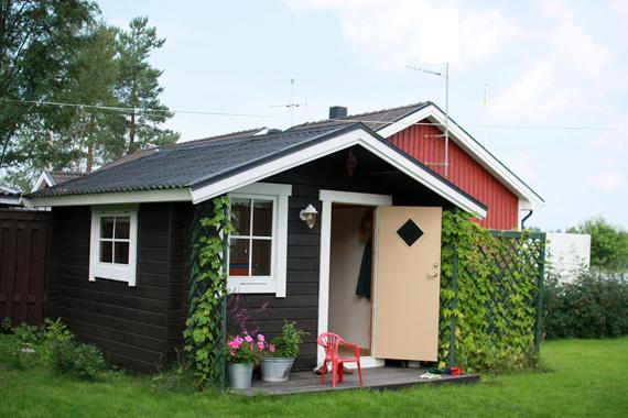 Дачный домик небольшой своими руками
