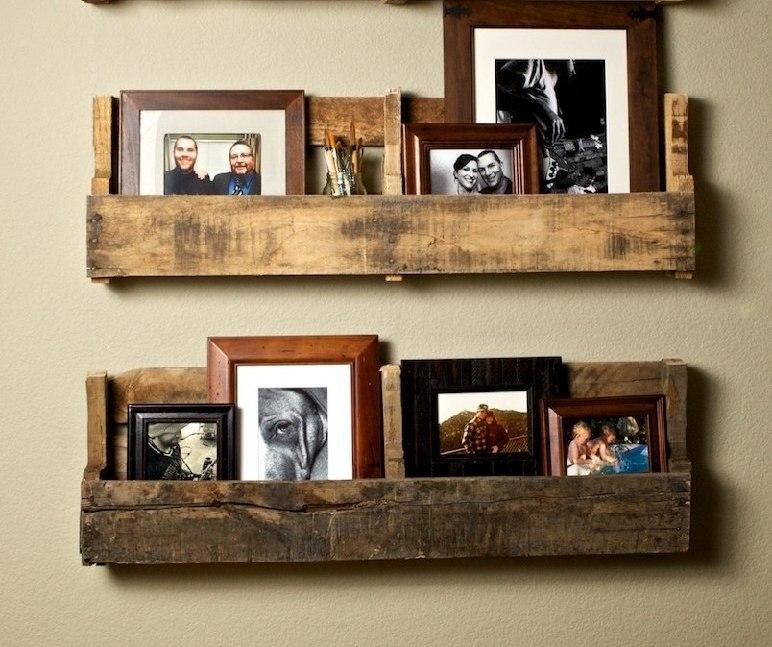 Деревянные полки на стену своими руками фото