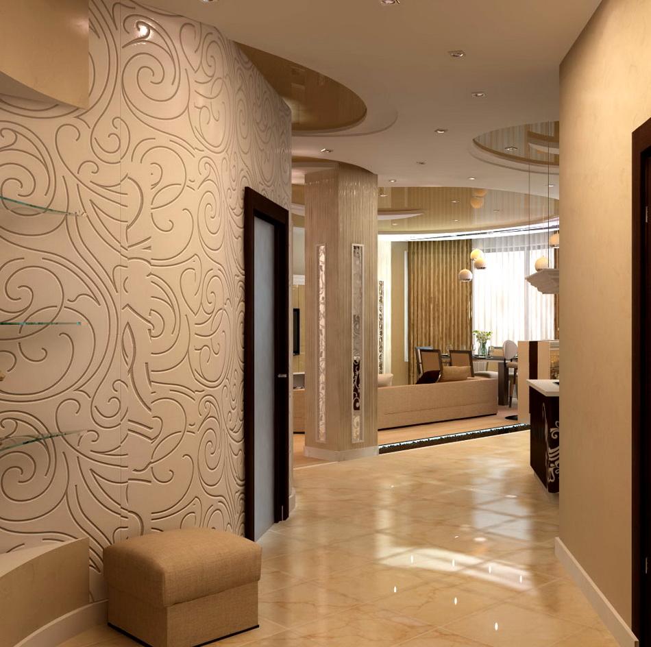 Красивые дизайны коридоров