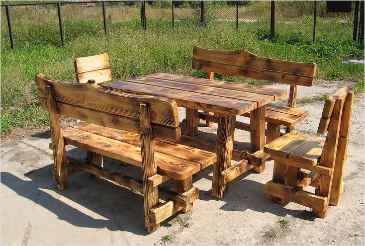Стулья и столы для дачи своими руками