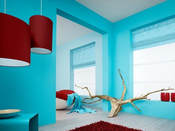Покраска стен водоэмульсионной краской дизайн фото