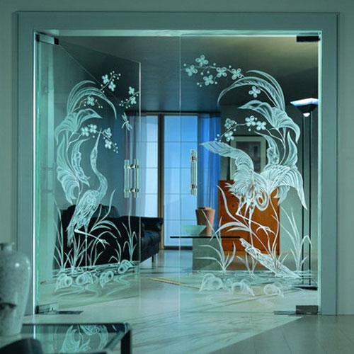 Дверь из стеклопакета своими руками
