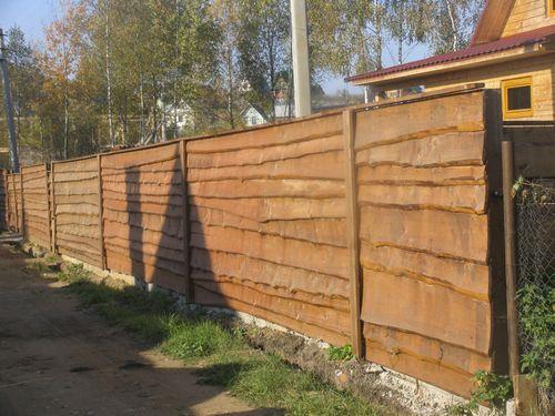 Деревянный забор своими руками для дачи