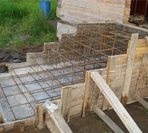 крыльцо фото из бетона