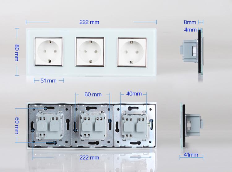 16123b1615cd73 Тройная розетка: особенности установки | Строительный портал