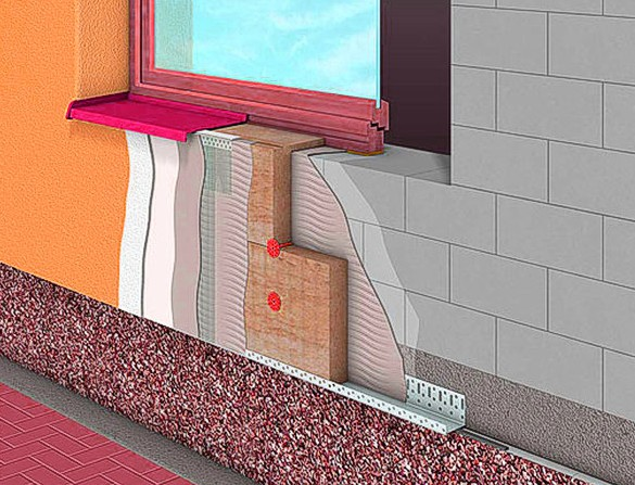 Мокрый фасад своими руками. Технология утепления | Строительный портал