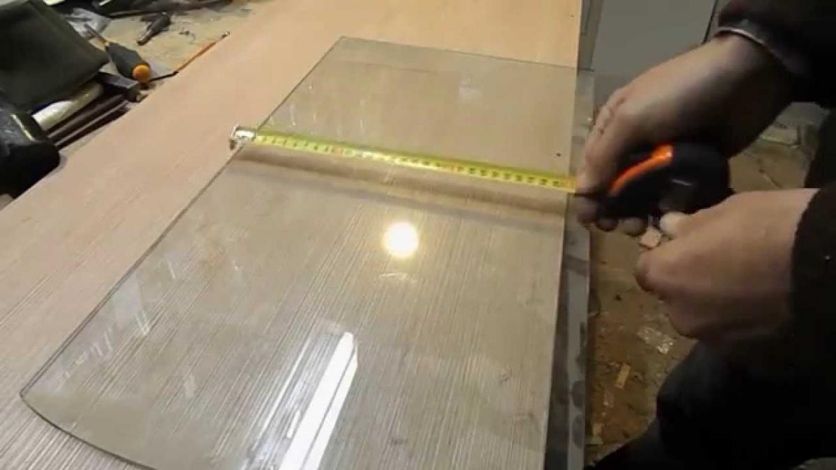 Как сделать стекло своими руками видео