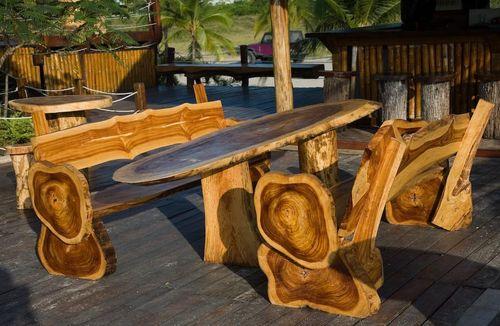 Беседка деревянная