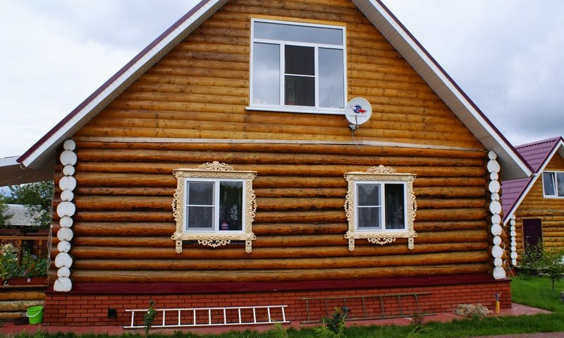 Дом в снегу своими руками