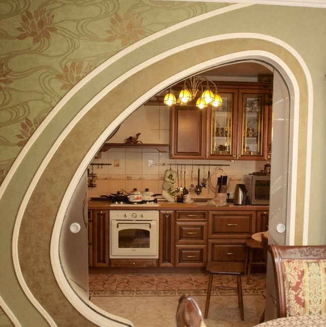 Арки дверные проемы дизайн Как оформить дверные проемы - оформлениемежкомнатного