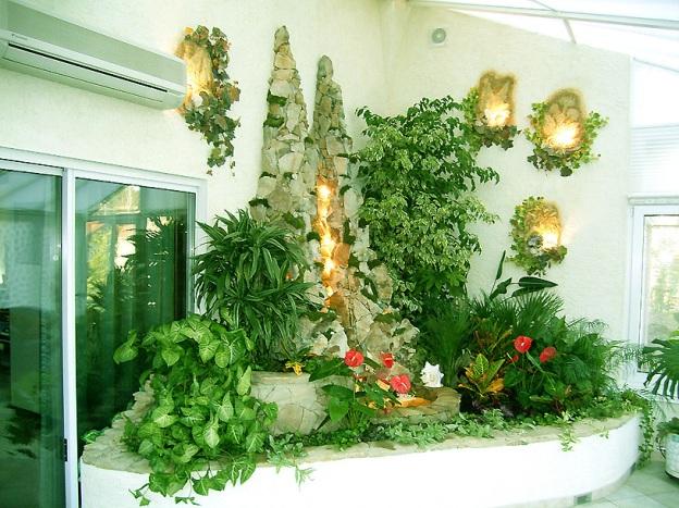 Оранжерея своими руками в доме