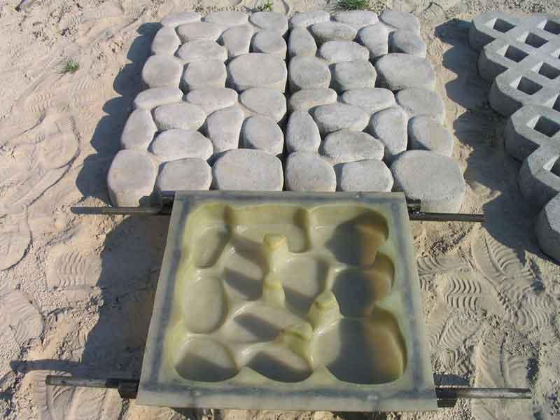 Изготовление форм тротуарной плитки своими руками