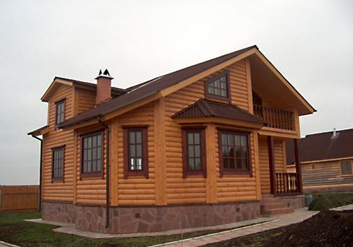 Внутренняя отделка дачного дома