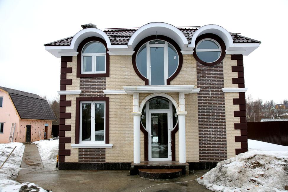 фото фасады частных домов