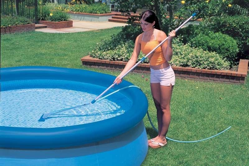 Как почистить воду в бассейне в домашних условиях 402