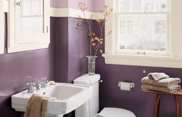 Как оригинально покрасить стены в ванной фото