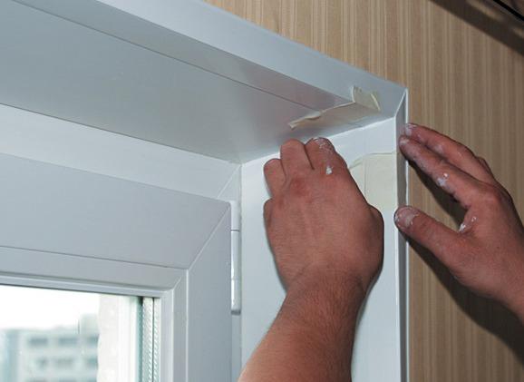 Как сделать отделку окна в деревянном доме