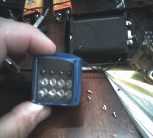 Ик-подсветка для камеры своими руками