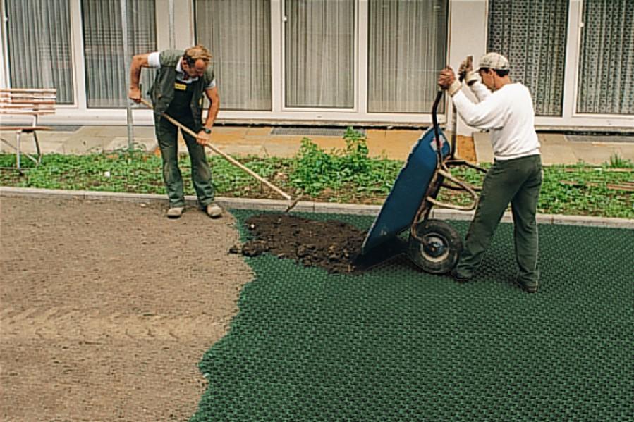Как устроить газон