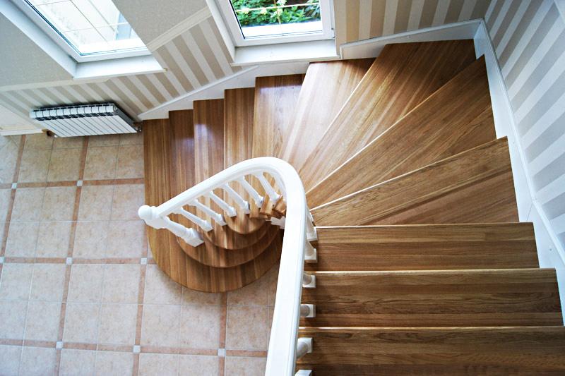 Лестница поворотные своими руками