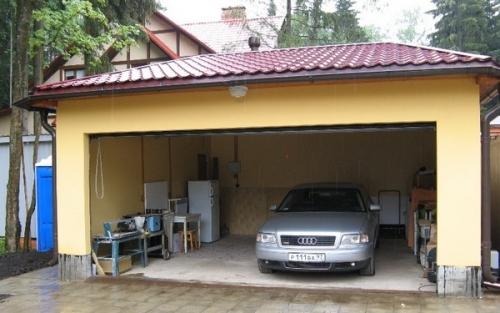 Как утеплить гараж пенопластом Строительный портал