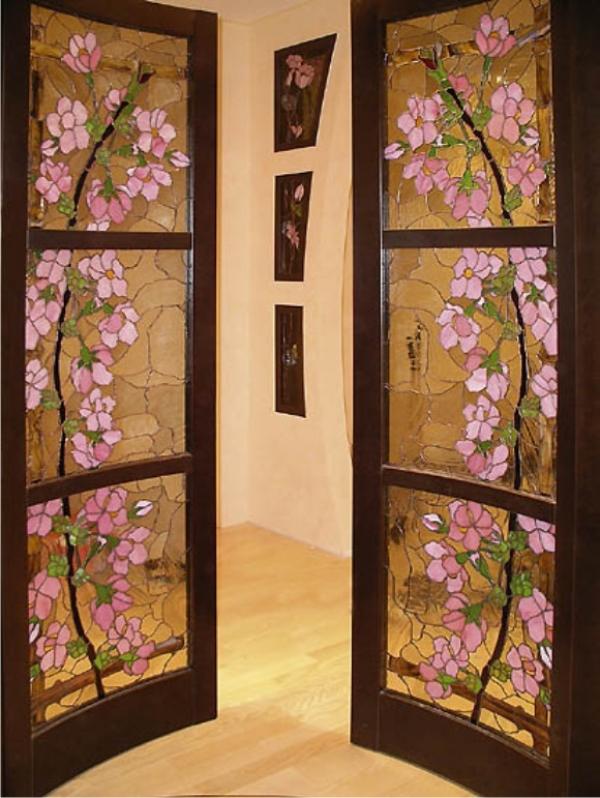 Декорирование дверей межкомнатных своими руками