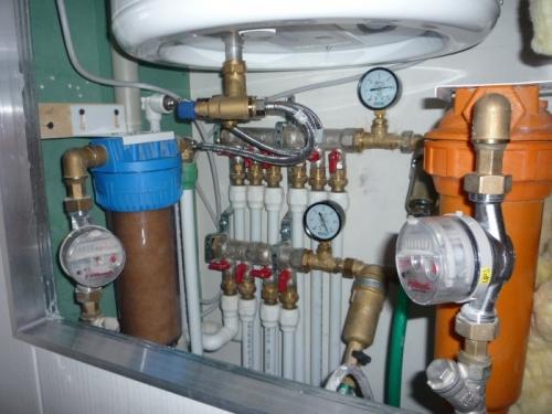 Схема разводки водопровода в квартире полипропиленом