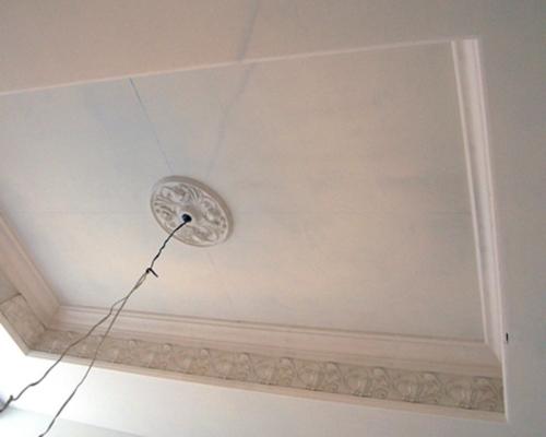 Подвесной двухуровневый потолок своими руками