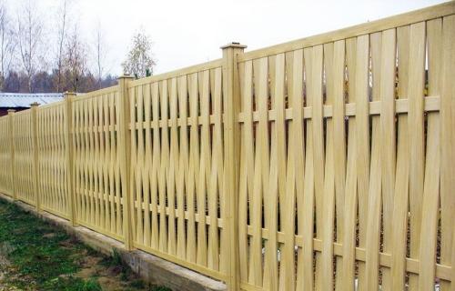 Строительство забора - забор своими руками