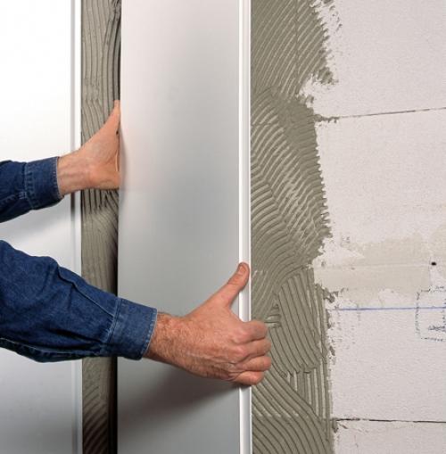 Обшить стены пвх своими руками