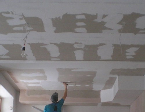 Потолок из гкл своими руками