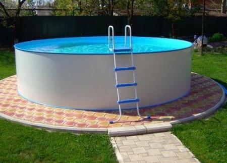 Основание для надувного бассейна своими руками