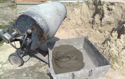 Как сделать раствор из цемента и песка
