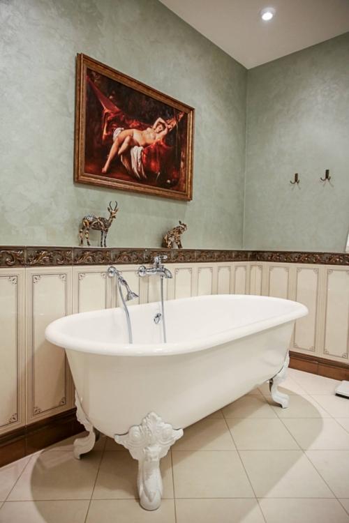 Венецианские обои в интерьере квартиры, Строительный портал