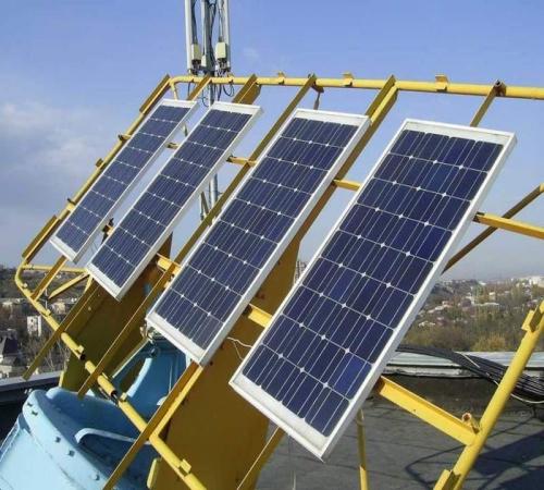 Um Zu Liefern Strom Zu Dem Haus Eine Autonome Solarenergie Gilt Als Die  Beste Option Sein.