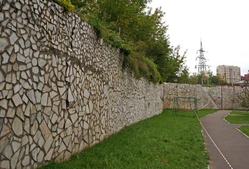 Бетонная подпорная стена своими руками