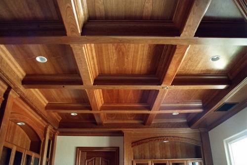 Кессонный потолок своими руками, Строительный портал