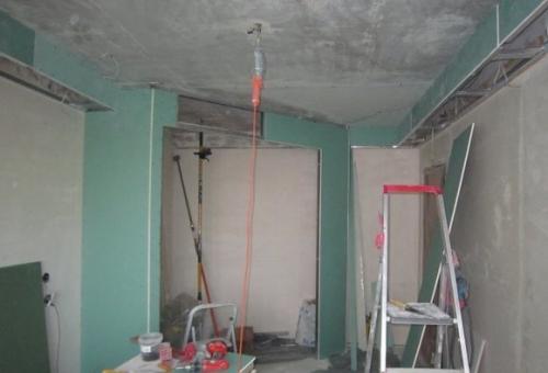 Подготовка поверхности под натяжной потолок, Строительный портал
