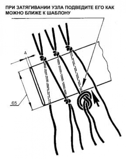 как плести сетку для рыбалки из ниток