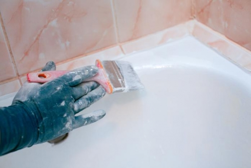 эмалировка ванной своими руками