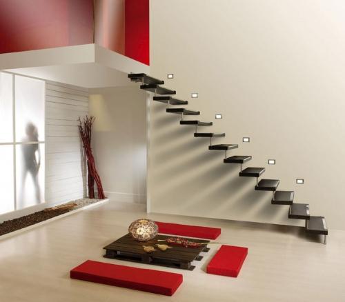 Дизайн лестницы в доме: фото, идеи, Строительный портал
