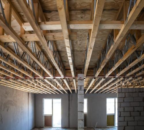 Перекрытие потолка своими руками в частном доме