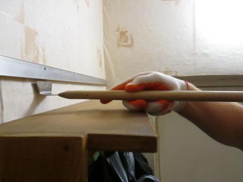 Шпателя для натяжных потолков своими руками 52