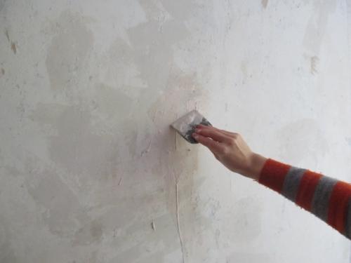 Утепление стен обоями из полистирола